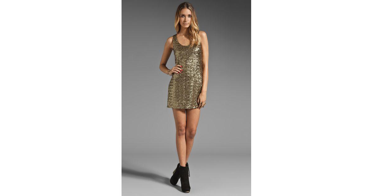 Stylestalker go for gold dress
