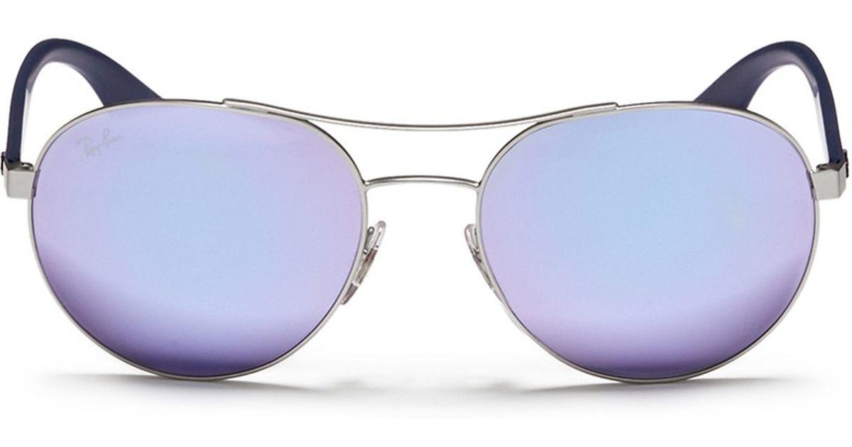 81e162333ac Purple Mirror Ray Bans « Heritage Malta