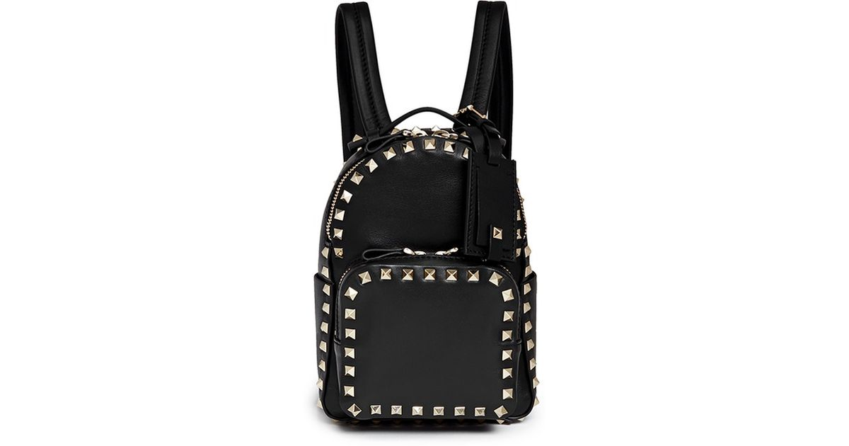 Countdown Package Online Cheap Sale Many Kinds Of Valentino Rockstud bacpack Free Shipping Shop For Amazing Price Clearance 100% Guaranteed Id3uHJd