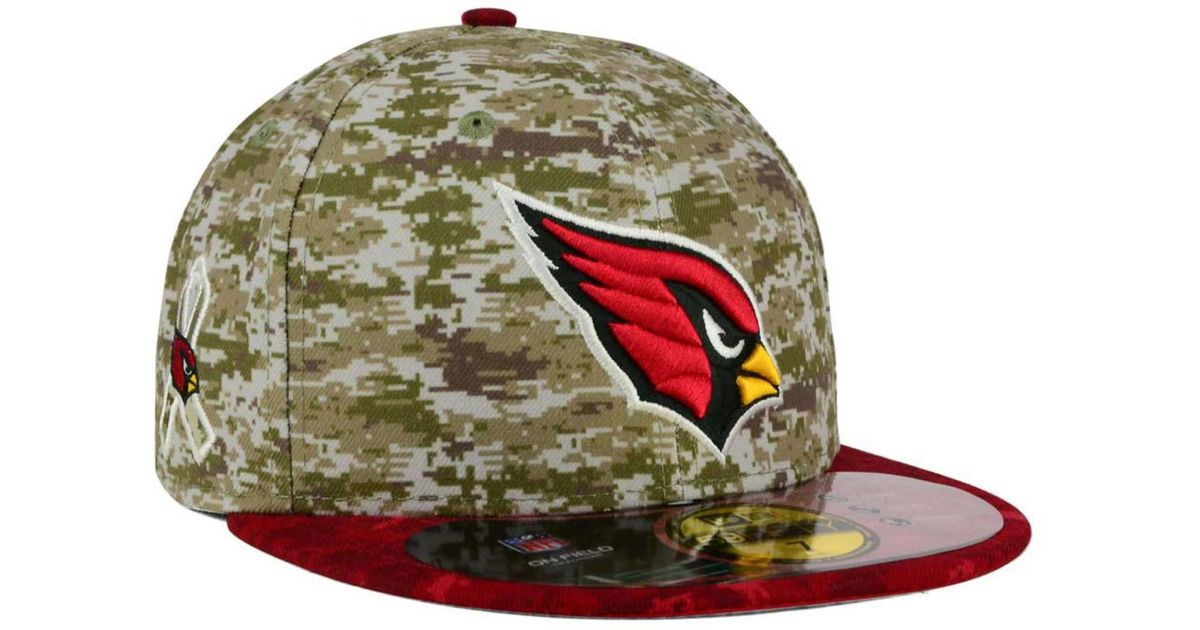 new concept 685cc 52a0d ... where can i buy lyst ktz arizona cardinals salute to service 59fifty cap  in green for