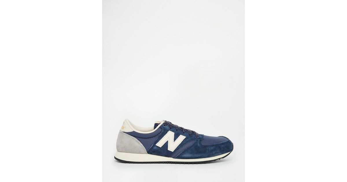 New Balance Blue 420 Premium Ripstop Trainers for men