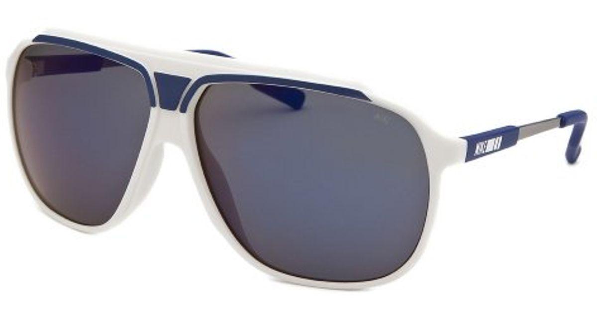d22d5a446c Lyst - Nike Men s Vintage Mdl 240 Aviator White Sunglasses in White for Men