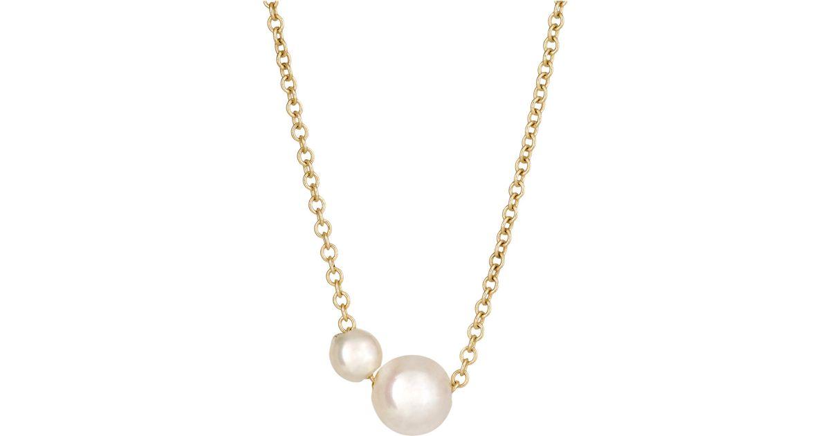 Grace Lee Designs Petite Lace Iv 14-karat Gold Necklace SzaqOrl