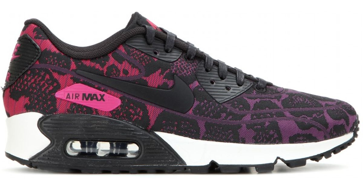 nike air max 90 jacquard black