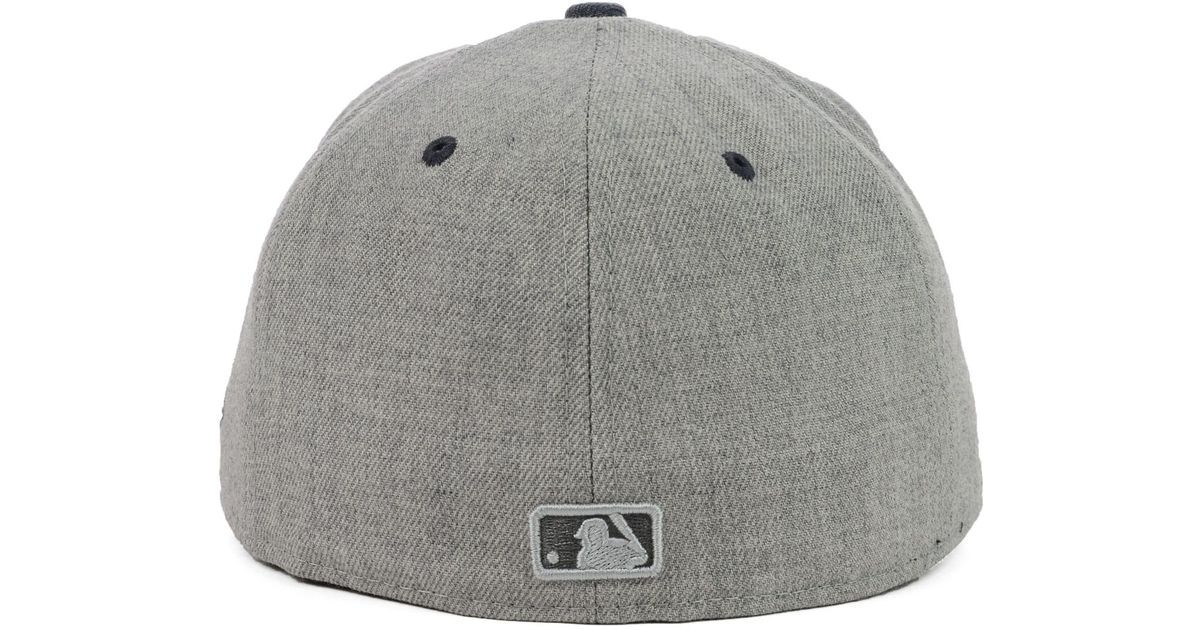 competitive price 7cfec 9fb76 Lyst - KTZ New York Mets Heather Mashup 59Fifty Cap in Gray for Men