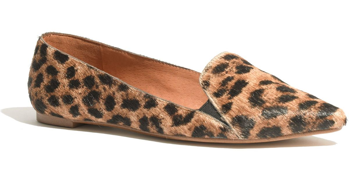 572cf6fd425 Lyst - Madewell The Anouck Loafer In Calf Hair