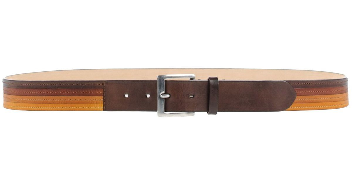 paul smith belt in brown for lyst