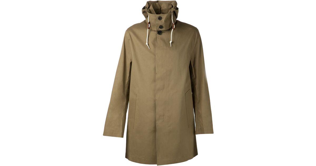 Boss orange herren trenchcoat mantel barretts