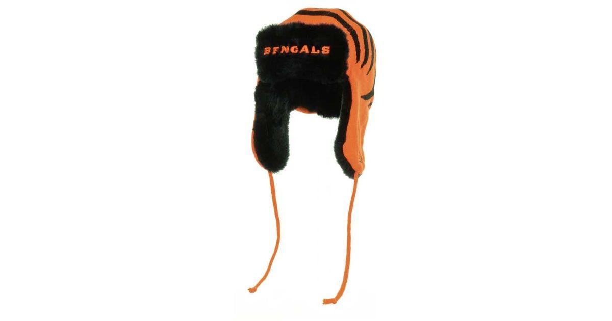Lyst - Ktz Cincinnati Bengals Trapskin Knit Hat in Orange for Men 68c36b1dc