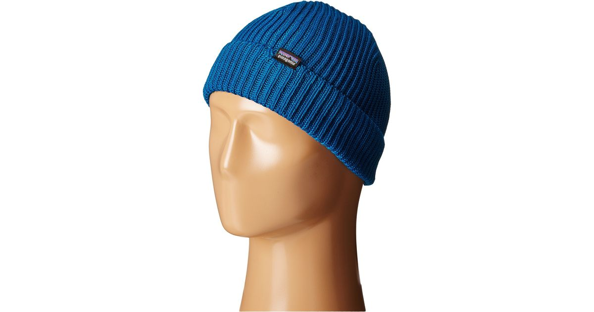 b79901c75ac Lyst - Patagonia Fishermans Rolled Beanie in Blue for Men
