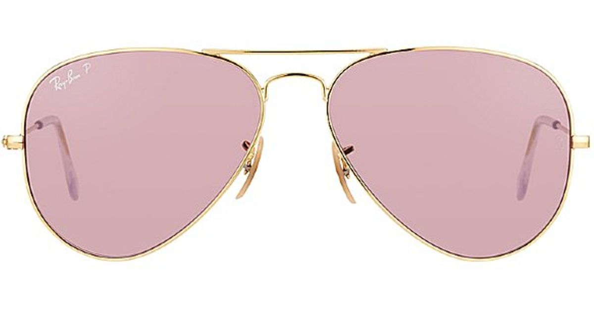 f431ffcef ray ban aviators with polarized pink lenses at j crew | Money in the ...