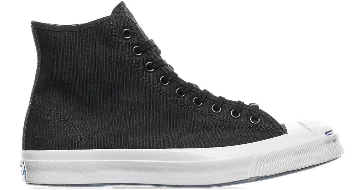 c48235097801 Lyst - Converse Jack Purcell Qs Signature High  duck Canvas Pack  Sneakers  in Black for Men