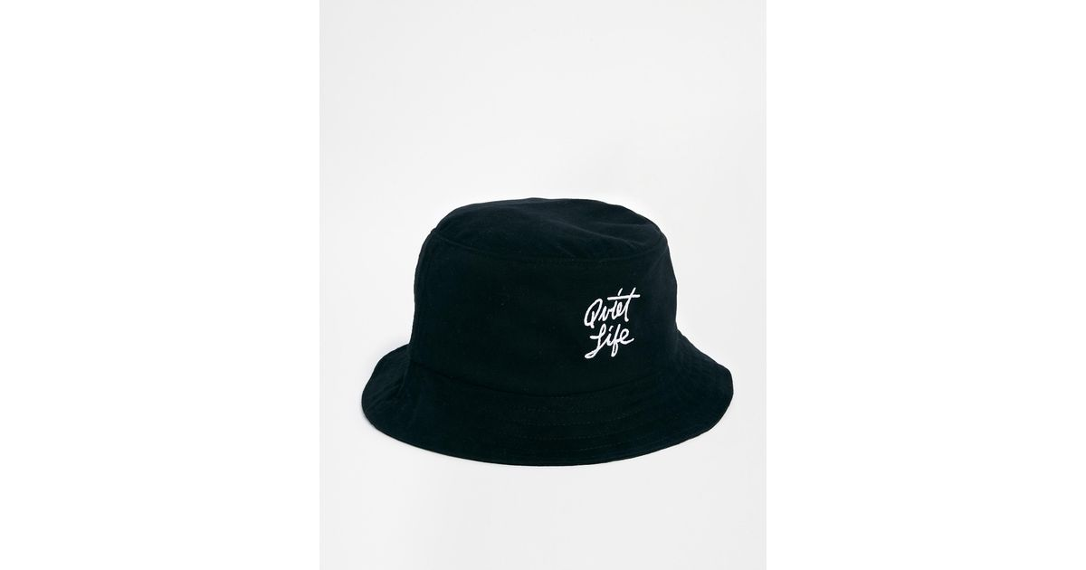 2ab5916af62 Lyst - The Quiet Life Bucket Hat in Black for Men