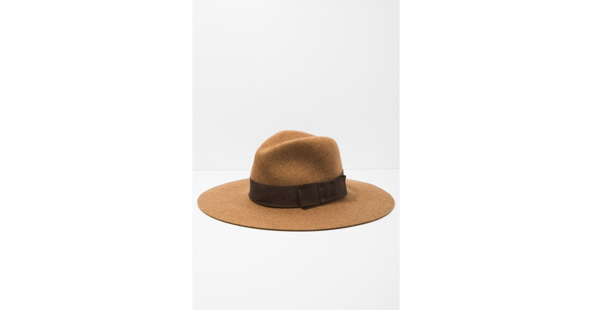 61bb746ab4f Lyst - 7 For All Mankind Brixton Piper Hat In Heather Coffee in Brown for  Men