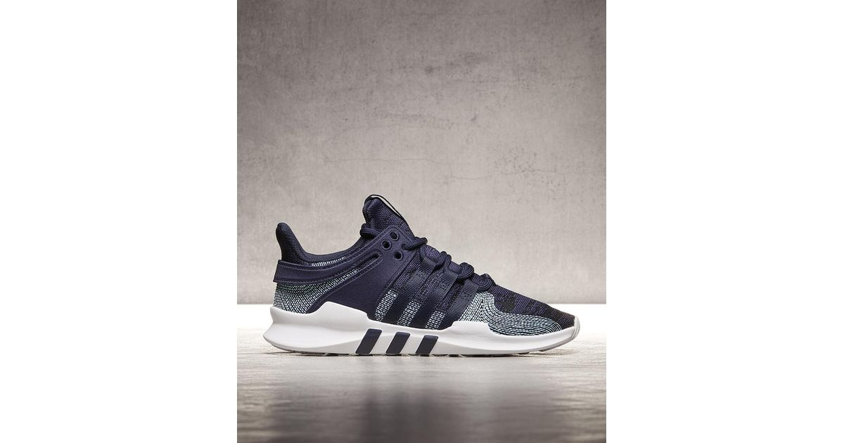 brand new ad345 e85f4 Adidas - Blue Eqt Support Adv Parley Trainer for Men - Lyst