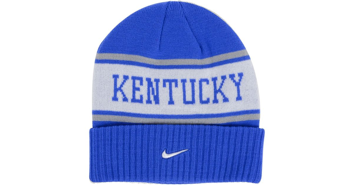 5ddf473ac74 ... coupon for lyst nike kentucky wildcats sideline knit hat in white for  men d1ce0 b6c59 ...