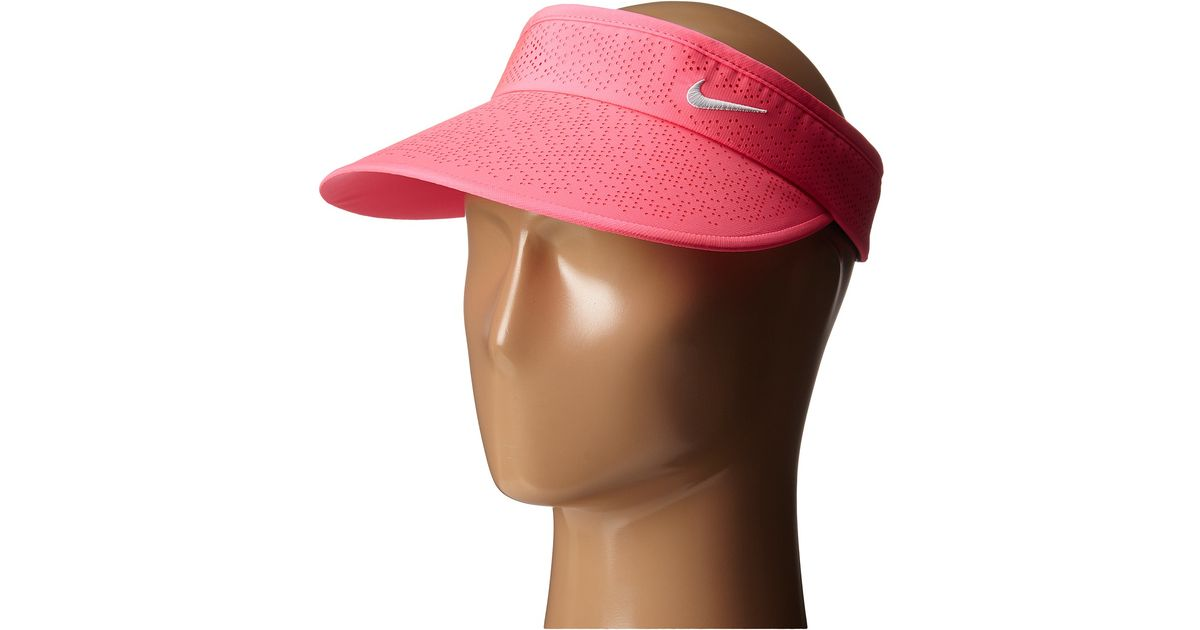 Lyst - Nike Big Bill Visor 2.0 in Pink 7161f11984