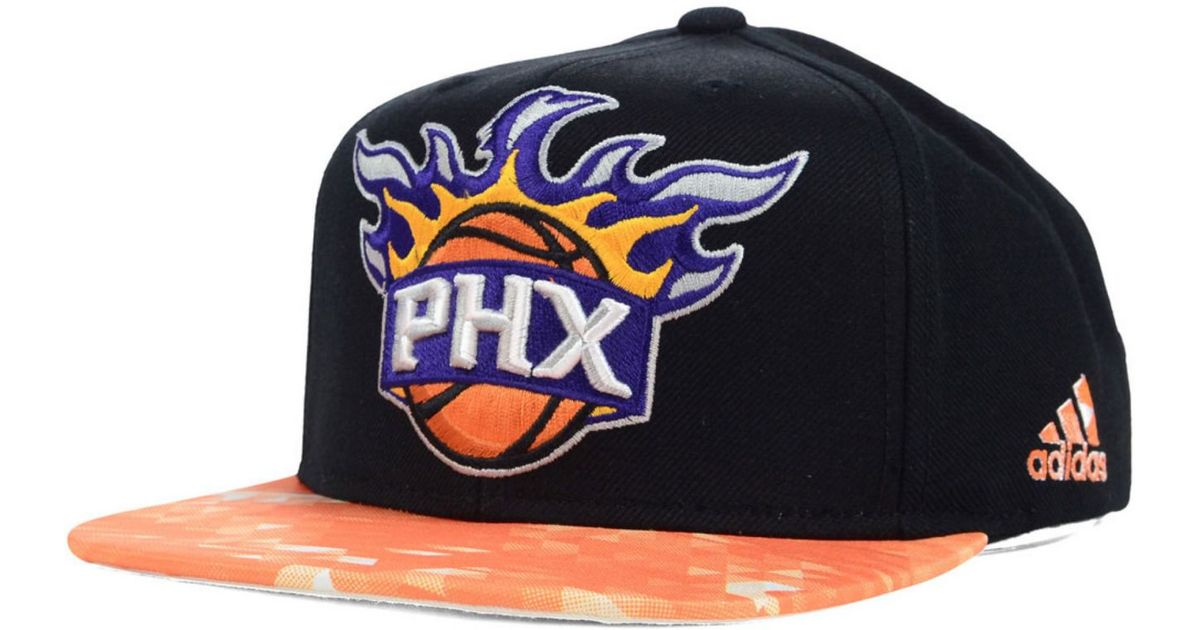 cheap for discount e2590 2ca1c Lyst - adidas Phoenix Suns City Pulse Snapback Cap in Orange for Men