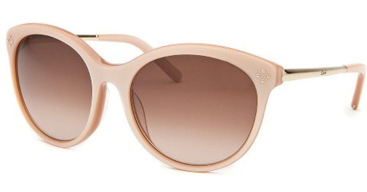 14b735ce801 Lyst - Chloé Women s Round Blush Sunglasses in Pink