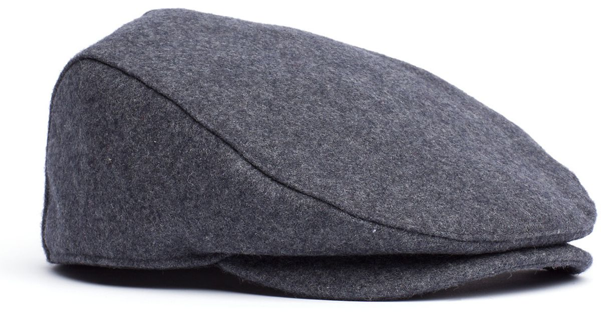 Tommy Hilfiger Melton Cap in Gray for Men - Lyst 465754ced0f