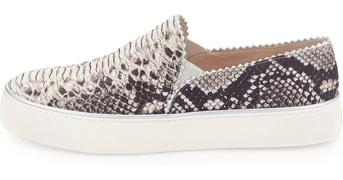 Stuart Weitzman Printed Slip-On Sneakers outlet store locations shop offer online buy cheap pictures shop offer cheap price dq6wNHr