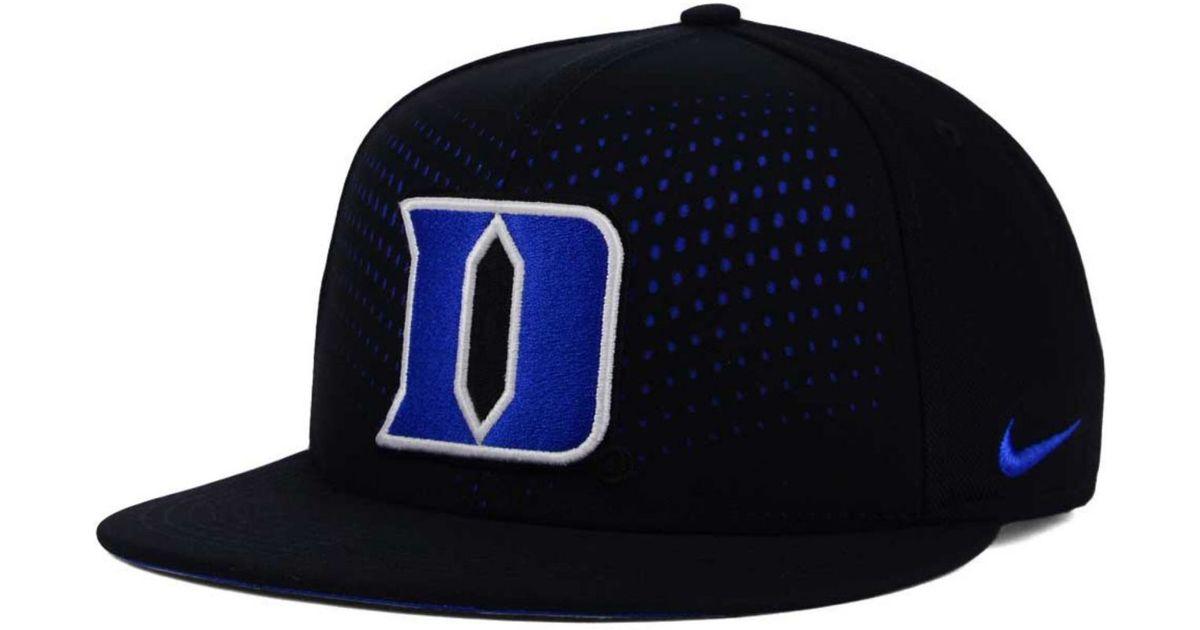 cheaper ee90a cadb9 ... where can i buy australia lyst nike duke blue devils true seasonal  snapback cap in black