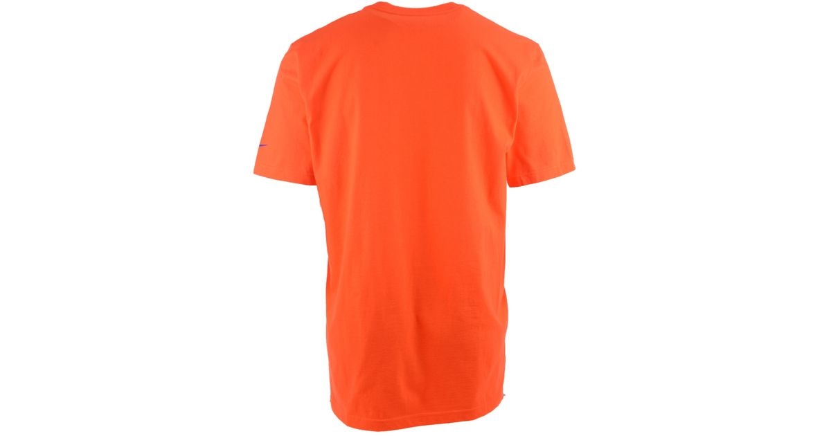 Lyst - Nike Men s Denver Broncos Retro Logo T-shirt in Orange for Men 2cdb1ce68