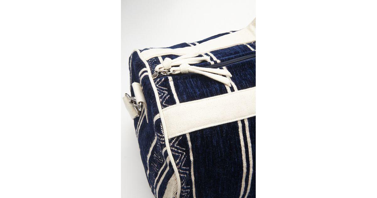 005de13beea4 Lyst - Forever 21 Southwestern-patterned Duffle Bag in Blue for Men