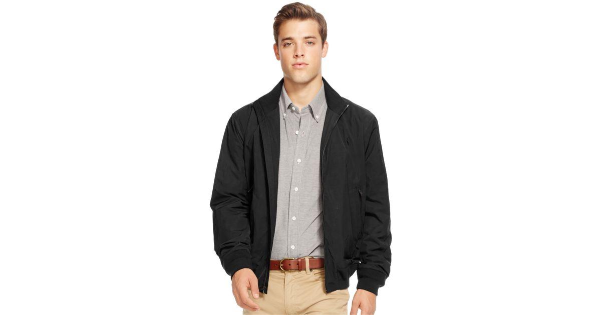 3efc8db1eb96 Lyst - Polo Ralph Lauren Men s Nylon Barracuda Jacket in Black for Men