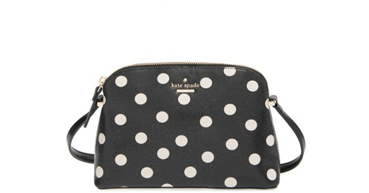 Lyst Kate Spade New York Cedar Street Dot Mandy Crossbody Bag In Black
