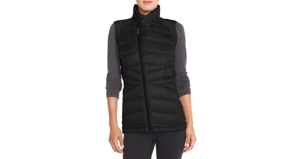 14414fbc5d4d ... Lyst - The North Face lucia Hybrid Down Vest in Black ...