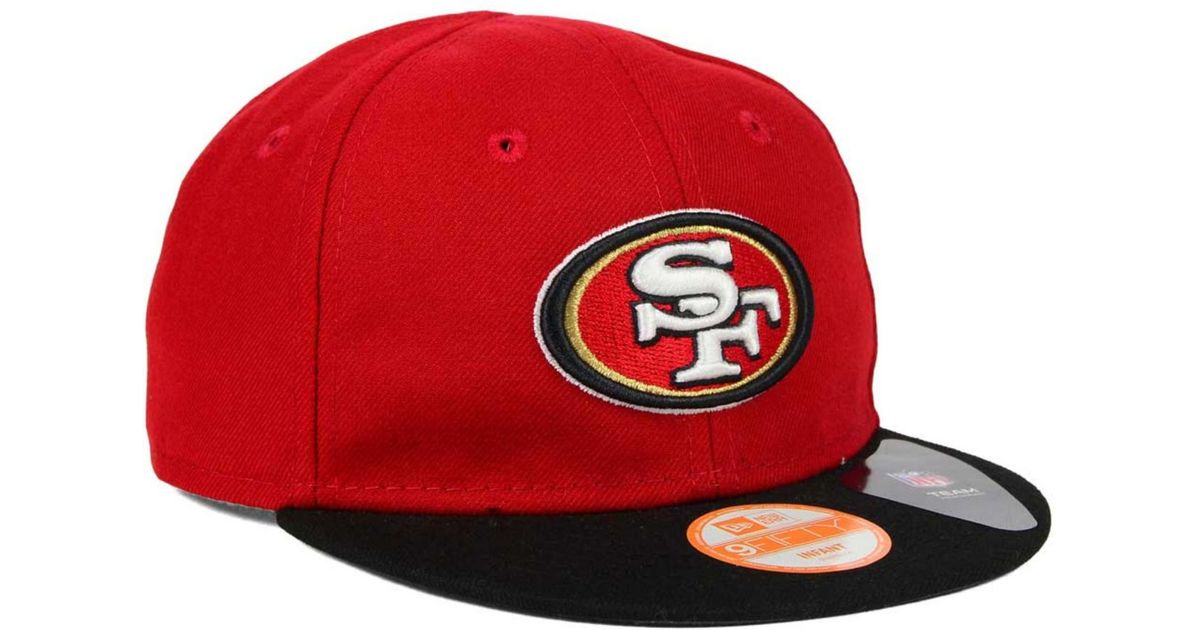 best service f10bf 837a3 Lyst - Ktz Babies  San Francisco 49ers My 1st 9fifty Snapback Cap in Red  for Men