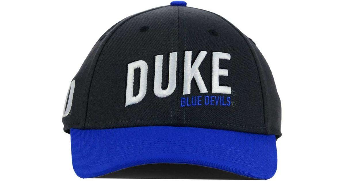 newest 35971 7b5d9 ... inexpensive lyst nike duke blue devils l91 swooshflex cap in gray for  men 687ad 0b439