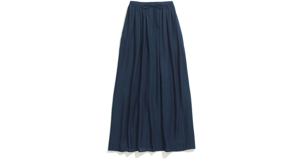 d3fd42a0e Lyst - Madewell Skyward Skirt in Blue