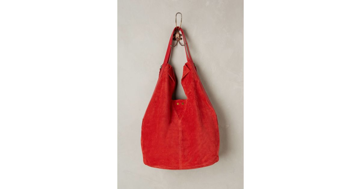 Holding horses Charlottenburg Hobo Bag in Red | Lyst