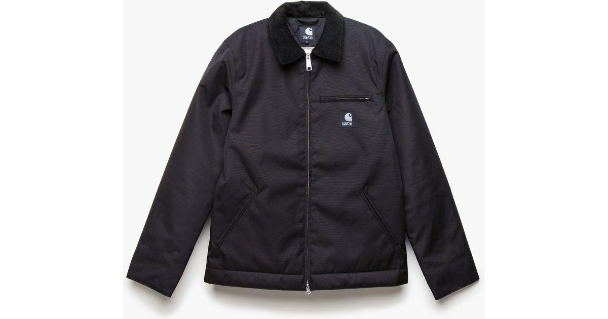1d6ac70981c Carhartt WIP Detroit Jacket Xxv in Black for Men - Lyst
