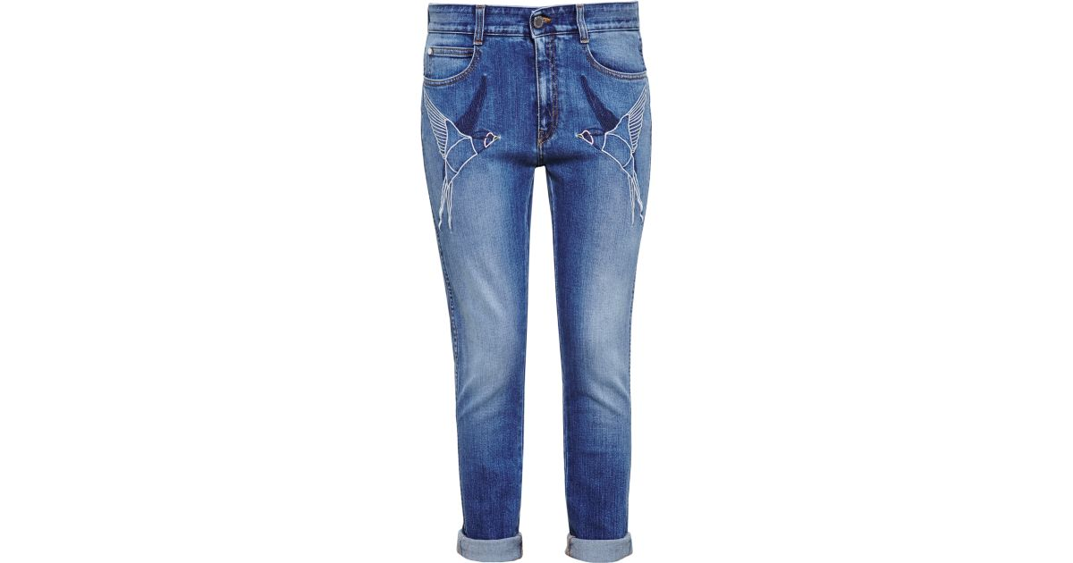 Embroidered jeans Stella McCartney zLfbeV