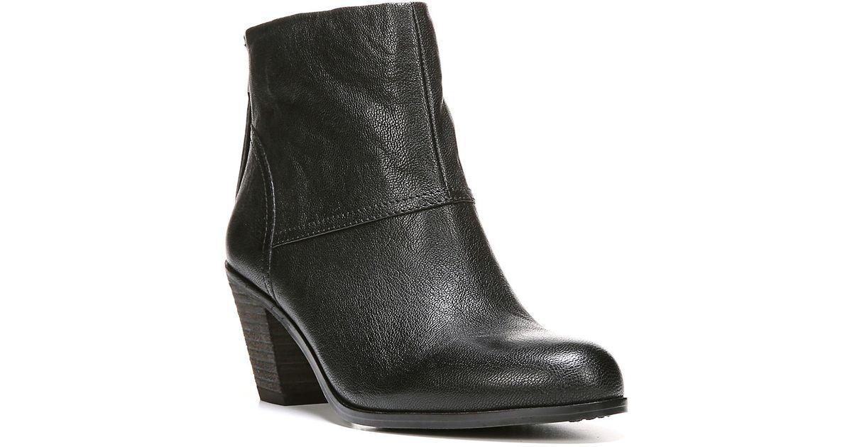 33f82eb6d377c Lyst - Sam Edelman Larkin Leather Booties in Black