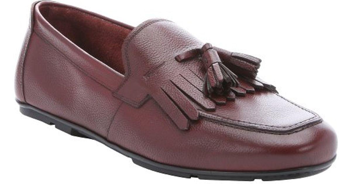 Ferragamo Burnt Russet Leather