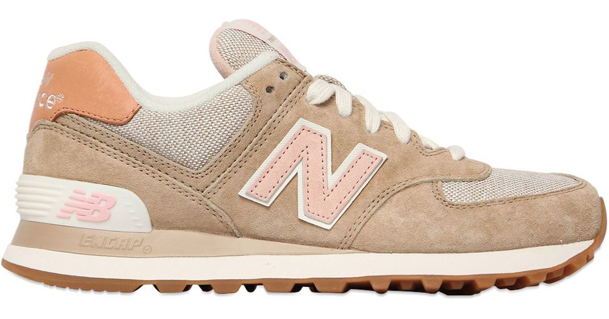 new balance ml574 - sneakers - beige
