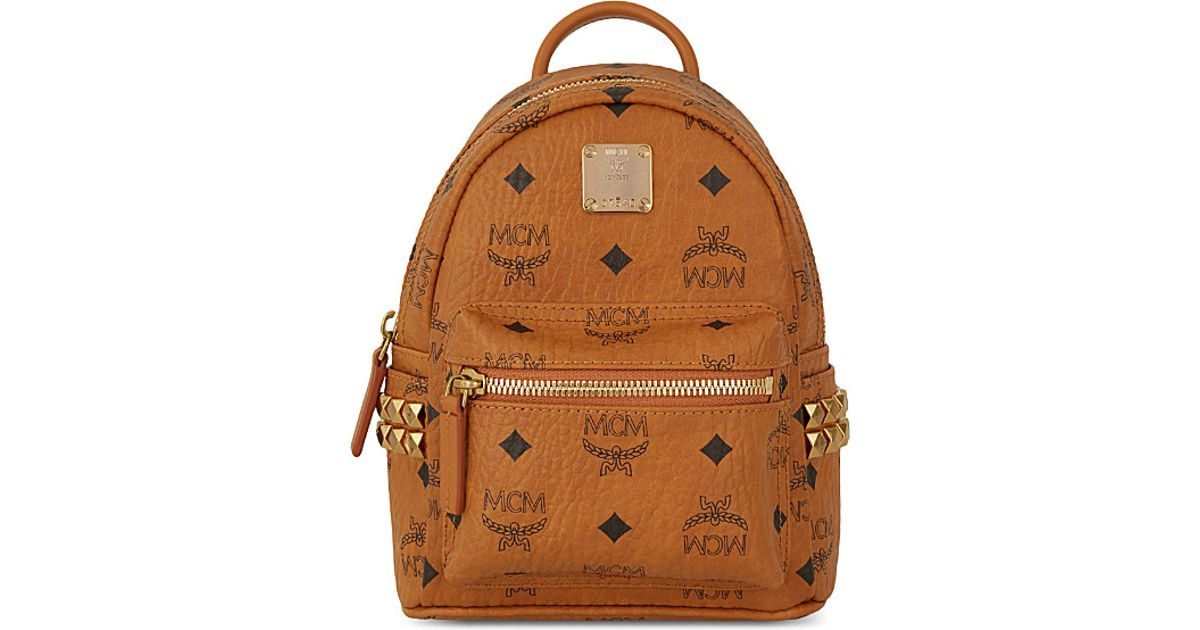 216cb236d67 MCM Bebe Boo X-mini Backpack in Brown - Lyst