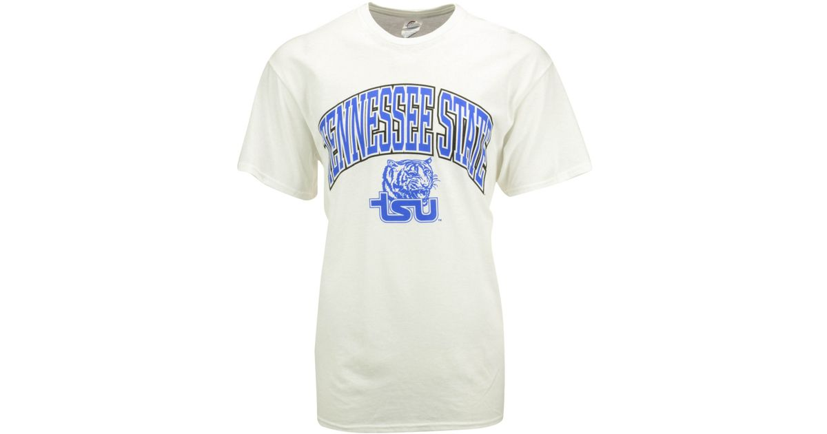 factory authentic 02f51 93b3a J America - White Men's Tennessee State Tigers Midsize T-shirt for Men -  Lyst