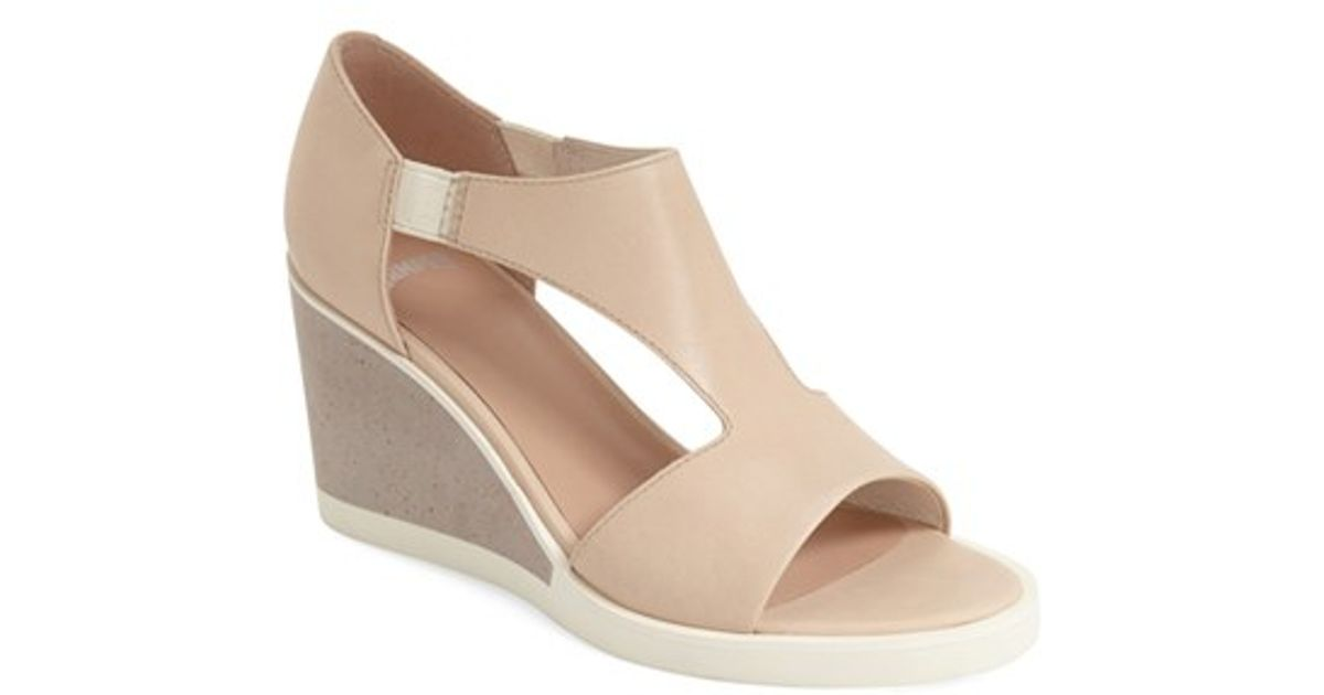 5d5d747682f Lyst - Camper  limi  Wedge Sandal in Natural