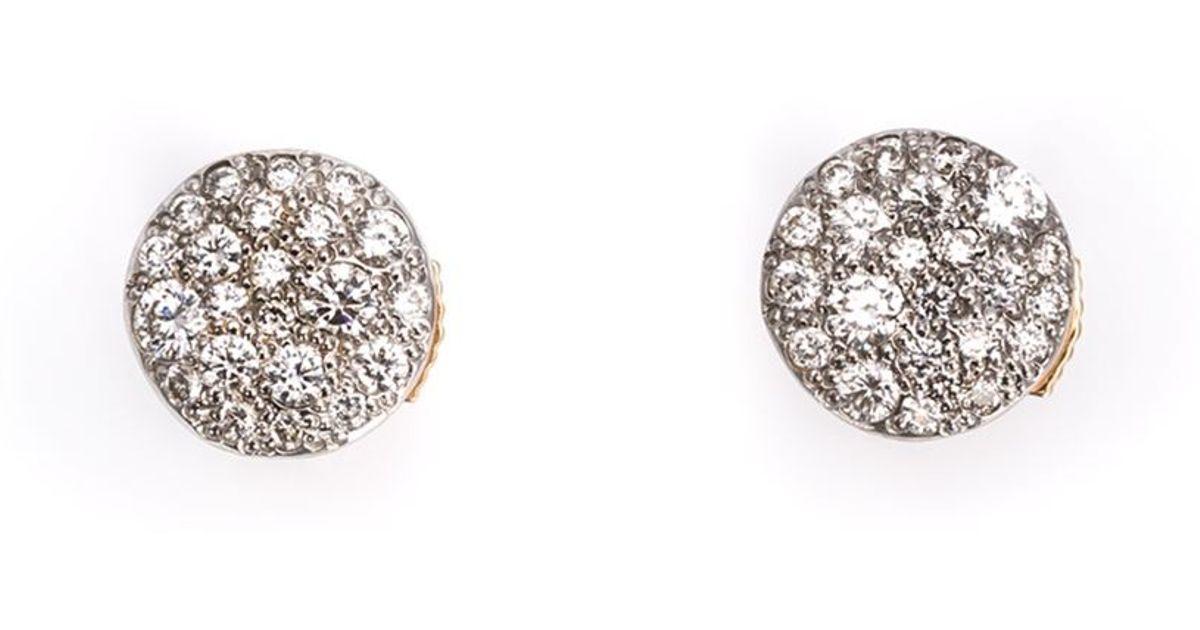 POMELLATO Sabbia Diamond Single Stud Earring 3ENvRC