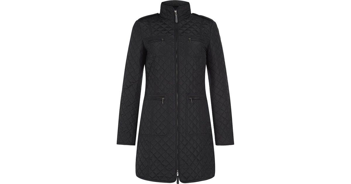 Hobbs polly coat black