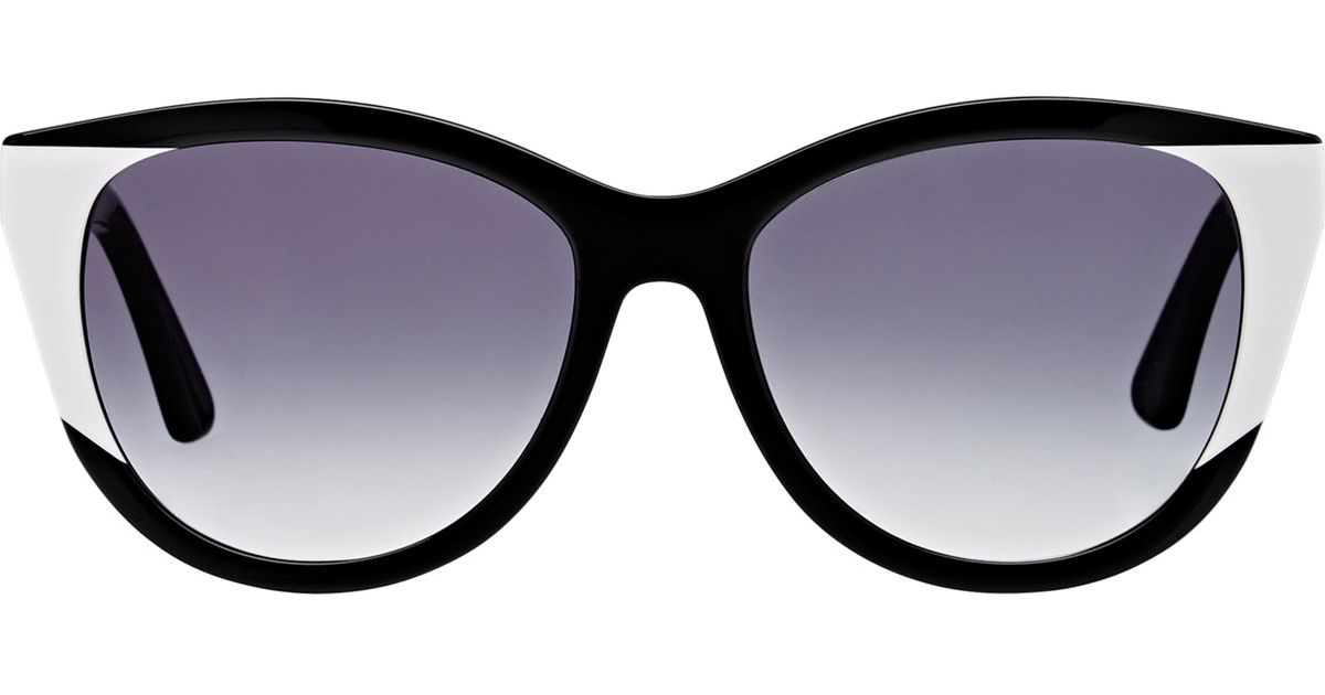 b55568c9f12 Lyst - Thierry Lasry Women s Flattery Sunglasses in Black