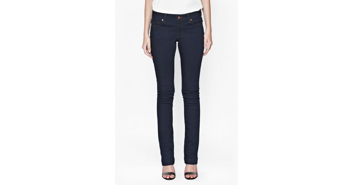 French connection Navy Royal Slim Boot Cut Jeans in Blue (Rinse Wash) - Save 59% | Lyst