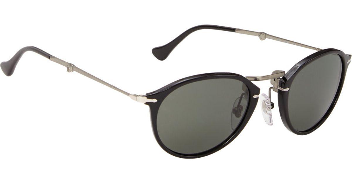 cc1c4c34b1 Persol Reflex Edition Foldable Sunglasses in Black for Men - Lyst