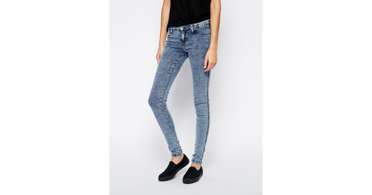 Dr. denim Kissy Super Skinny Jeans in Blue | Lyst