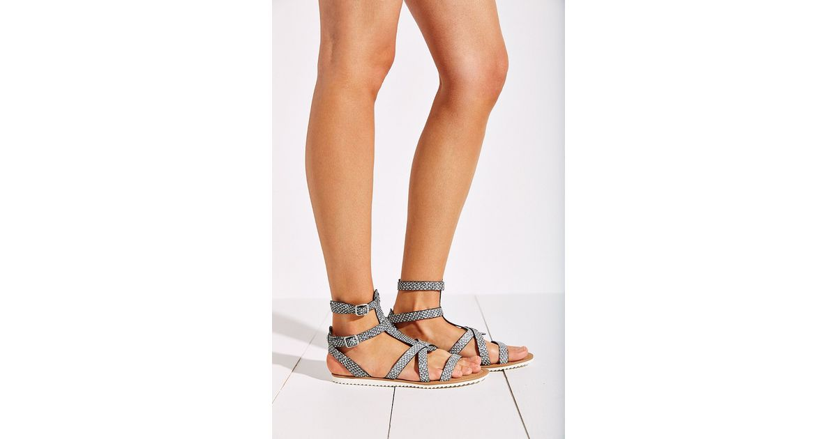 72b99a5212f2 Lyst - Circus by Sam Edelman Selma Jelly Gladiator Sandals in Gray